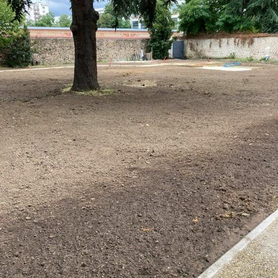 Aménagement paysager d'un Ehpad parisien